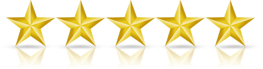 Five 5 Gold stars for best mortgage brokers toronto - dream key